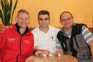 v.l.n.r.: Dennis Böhm, Carlos Ramos, Matthias Schmidt.